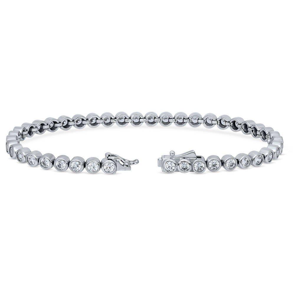 Bubble Tennis Bracelet made with Swarovski® Zirconia