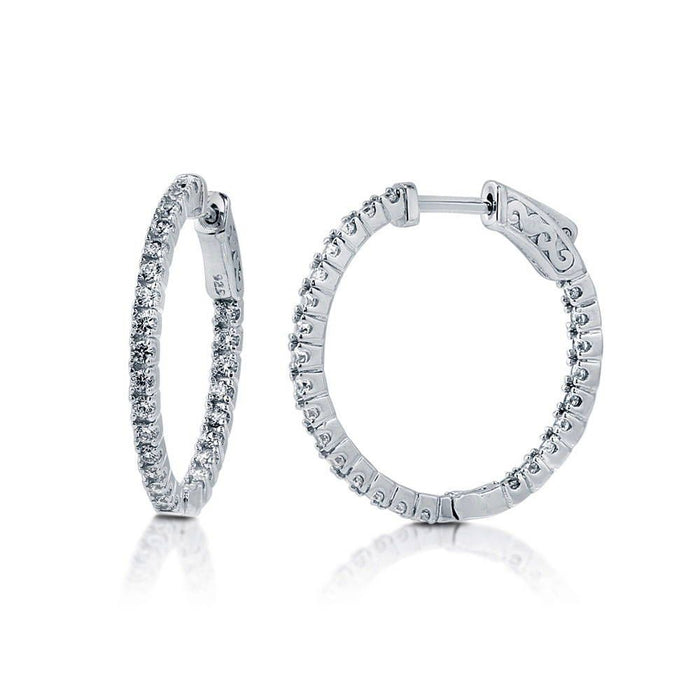Inside-Out Hoops made with Premium Zirconia
