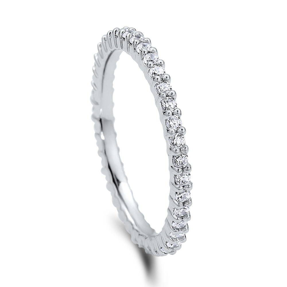 Full Eternity Ring (1.5mm) made with Premium Zirconia