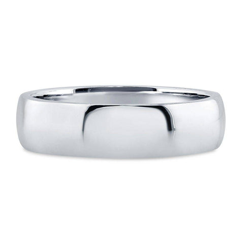 Plain Silver Wedding Band - 5mm