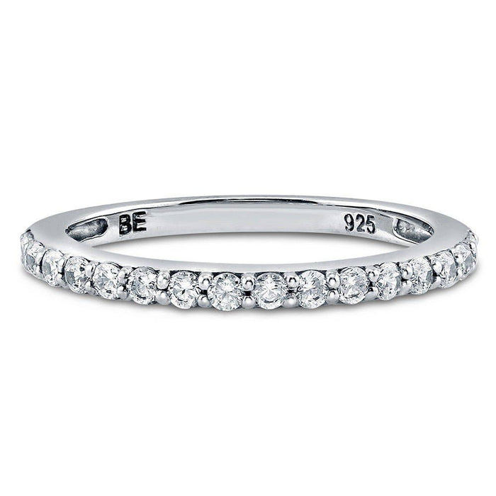 Half Eternity Ring made with Premium Zirconia
