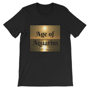 Short-Sleeve Unisex T-Shirt Sunset - Age of Aquarius