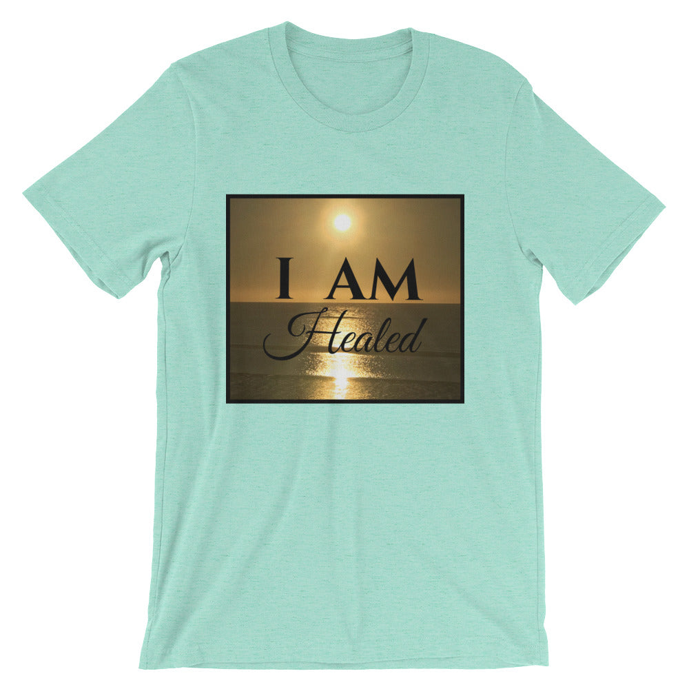 Short-Sleeve Unisex T-Shirt Sunset - I AM Healed