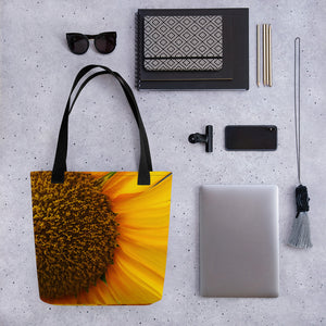 Tote bag Sunflower Centre