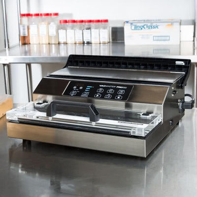 "VacMaster PRO 350 External Vacuum Packaging Machine with 12"" Seal Bar-VPPRO350:Kitchen Equipment Concepts"