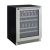 Marathon 24 Inch Dual Zone Premium Built in Beverage And Wine Cooler-MBWC24 | Kitchen Equipment Concepts