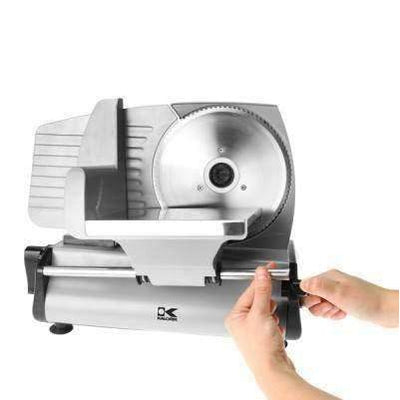 Kalorik Silver Professional Style Food Slicer-AS 40763 S:Kitchen Equipment Concepts