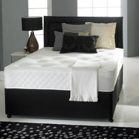 Carly Divan Bed Set With Sprung Memory Foam Mattress - Divan Bed Warehouse