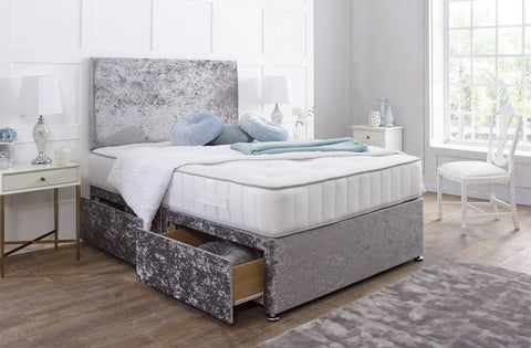 Buckingham Divan Bed Set with Matching Headboard - Divan Bed Warehouse