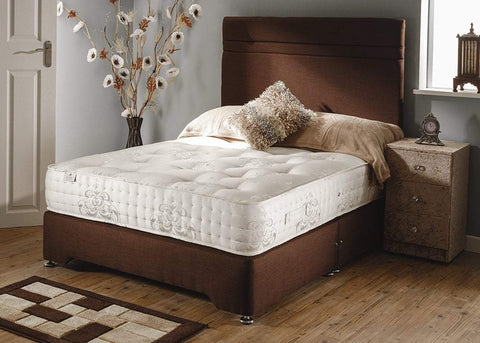 Knightsbridge 1000 Pocket Sprung Divan Bed Set - Divan Bed Warehouse