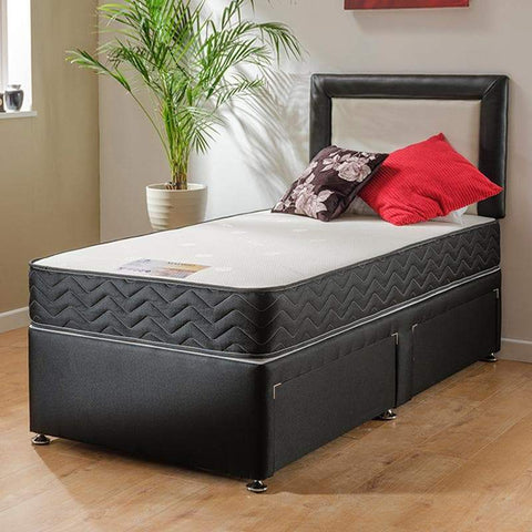 Madrid Memory Foam Divan Bed Set - Divan Bed Warehouse