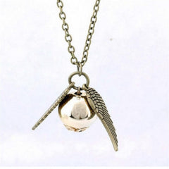 Durable Fashion choker necklace for Harry Potter and the Deathly Hallows gold necklace
