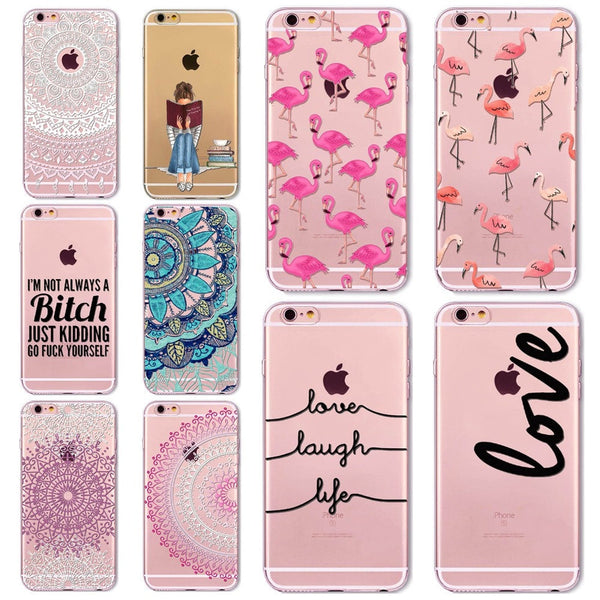 Animals Transparent Cases For Iphones