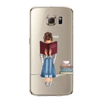 Phone Case for Samsung Galaxy S7 , S7edge Cover Soft Silicon