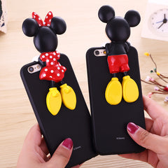 Minnie&Mickey Mouse 3D Cases for iPhone
