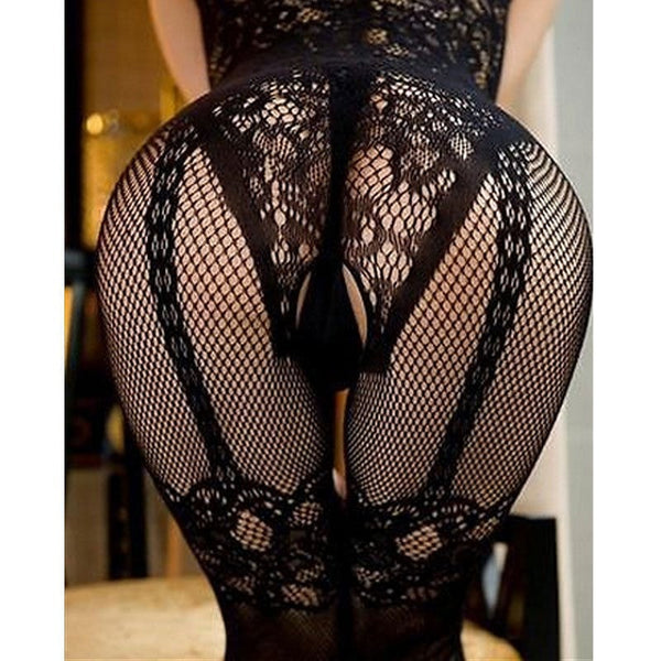 HOT Women Sexy Open Crotch Stockings - BUY 1 GET 1 FREE! - Stylished Shop