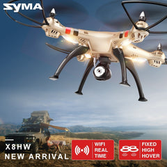 SYMA X8HW RC Drone with WiFi HD Camera Real-time Sharing 2.4G 4CH 6-Axis Quadcopter