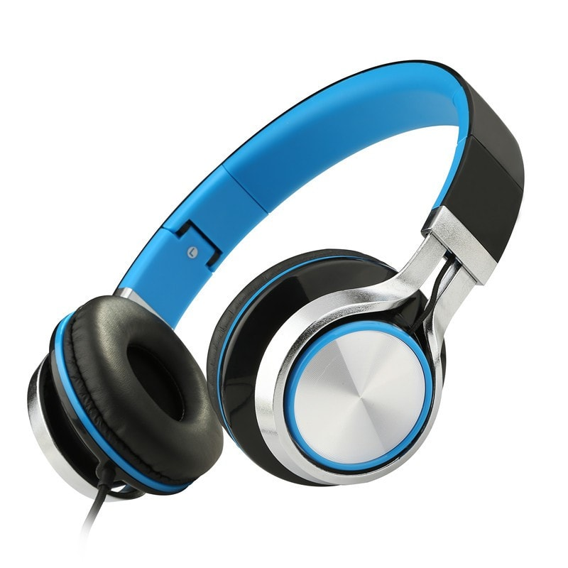 Sound Intone Ms200 Folding Stereo Headsets Strong Bass Adjustable Headphones