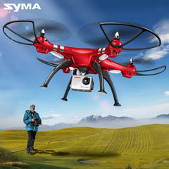 SYMA 2.4G 4CH RC Helicopter Drones 1080P 8MP HD Camera Quadcopter (SYMA X8C/X8W/ X8G Upgrade)