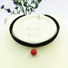 Fashion Black Rope Resin Pendant Choker Necklaces Jewelry For Women 2016 Newest Statement Necklaces Collares Hot - Stylished Shop