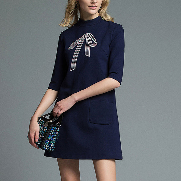 Blue Fashion Dress for Women