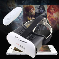 Virtual Reality 3D Glasses for 3.5-6.0 inch Phone's + Wireless Bluetooth Controller Gamepad - Stylished Shop