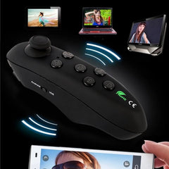 Portable Wireless Bluetooth 3.0 Remote Controller Selfie Shutter Mini Gamepad for iOS Android phones VR 3D Glasses - Stylished Shop