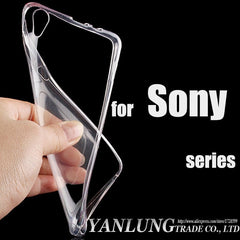 Transparent Clear Soft For Sony Xperia Series