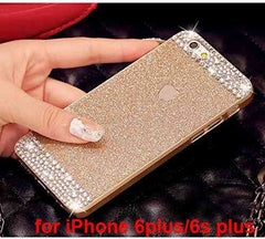 Glitter powder Rhinestone bling phone case for iPhone 4 4s 5 5s 6 6s 6s 6Plus 6sPlus