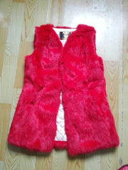 Real Genuine Natural Rabbit Fur Vest Female Women Fur Coat Vest
