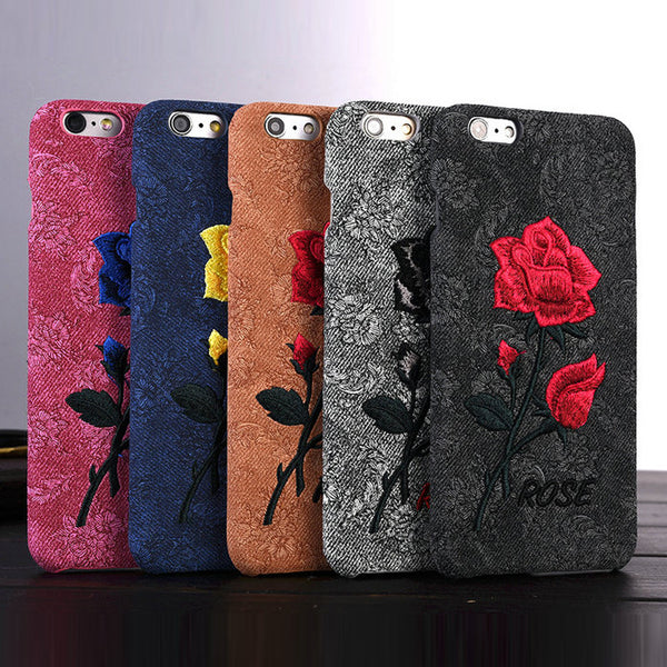 Chic Rose Retro Case for iPhone