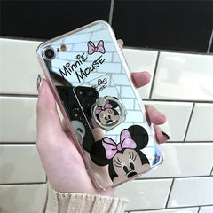 Minnie Mickey Mouse Cases with Mirror