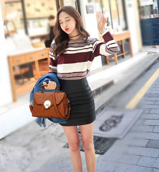 Brown Shoulder Bag Handbag for Women