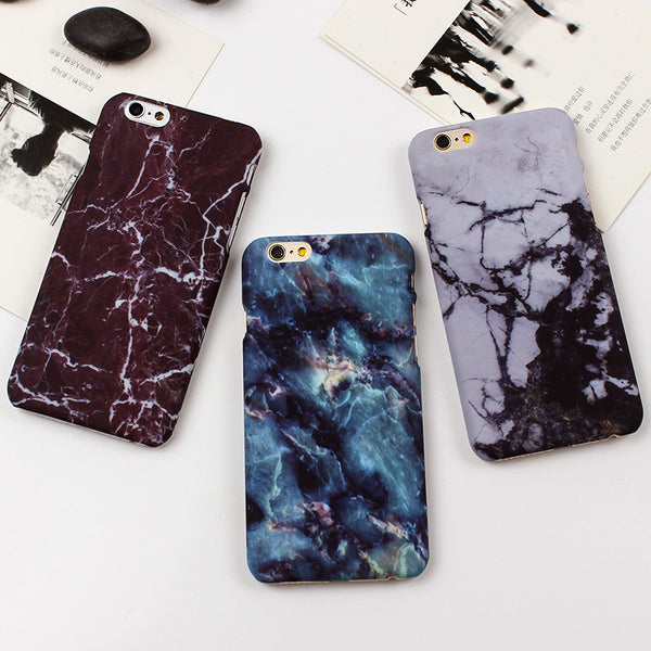 Retro Marble Case For iPhone