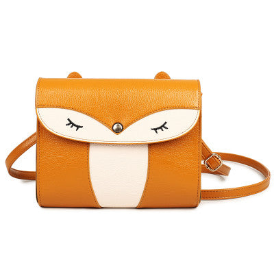 Yellow Owl Shoulder Bag Handbag Women