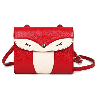 Red Owl Shoulder Bag Handbag Women
