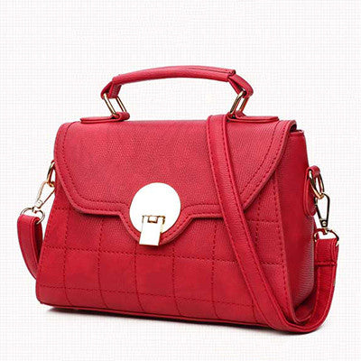 Red Shoulder Bag Handbag for Women