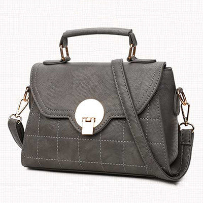 Gray Shoulder Bag Handbag for Women