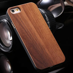 Real Wooden Case For iPhone