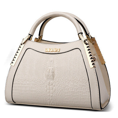 Beige Elegant Handbag for Women