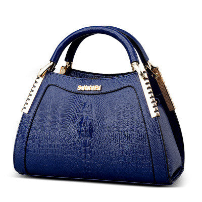 Blue Elegant Handbag for Women