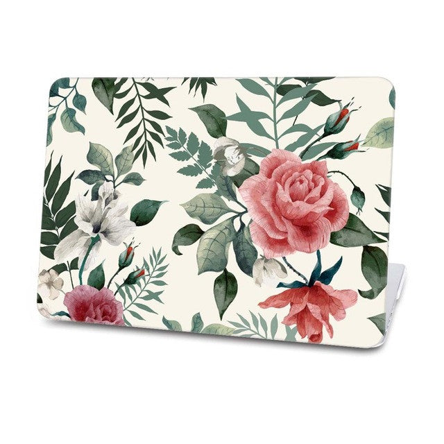 Flowers Rose Hard Case For Macbook