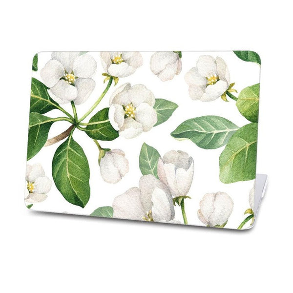 Flowers Pattern Hard Case For Macbook