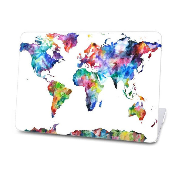 Cool Map Hard Case For Macbook