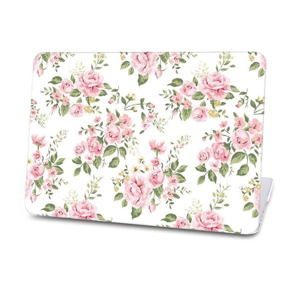 Beauty flowers Mac Case