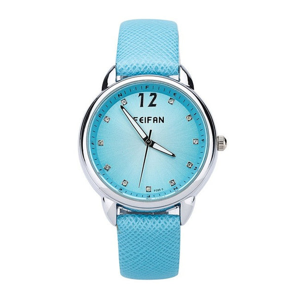 Blue Fashion Quartz Watch for Women