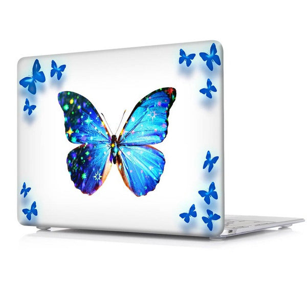 Blue Butterfly Beautiful Case for Mac