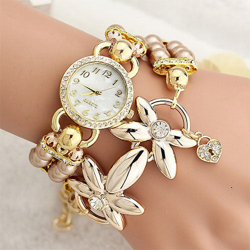 Fashion Quartz Bracelet Women Watch