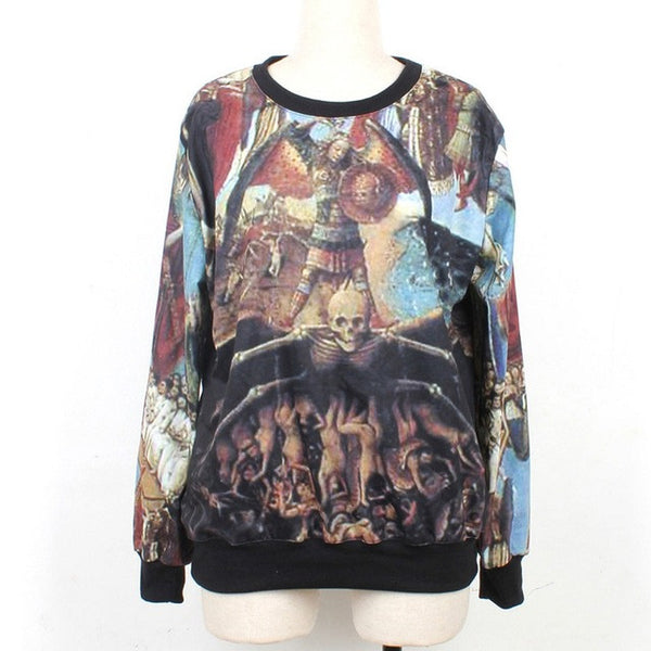 European Painting Women Sweatshirt