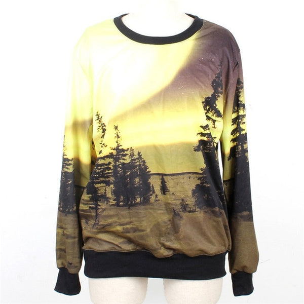 Desert Hoodies Sweatshirt for Women